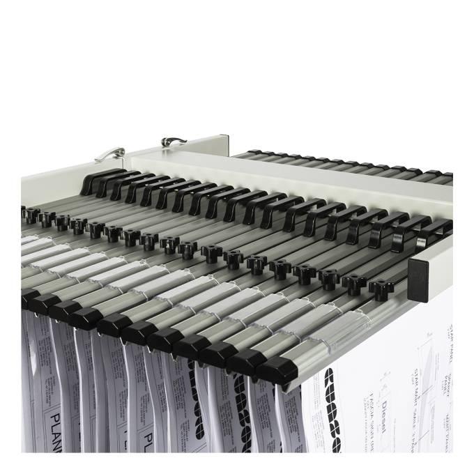 Draftex DPTA0 A0 Trolley (20 Plan Clamp Capacity)