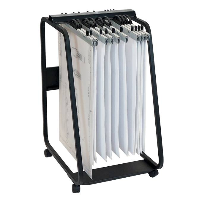 Hang-A-Plan D061 A1Plan Trolley (20 Clamps Capacity)