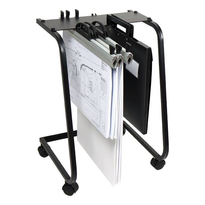 Hang-A-Plan D062 A2 Plan Trolley (15 Clamp Capacity)