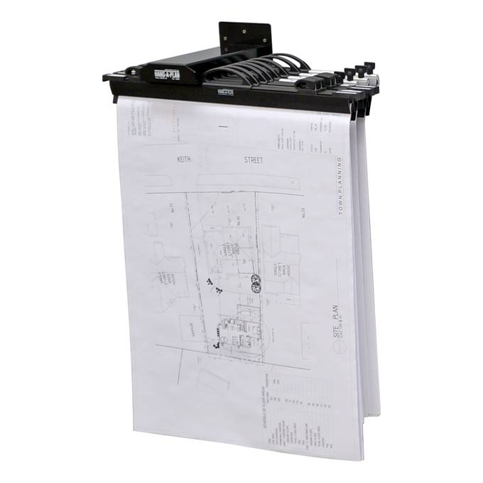 Hang-A-Plan Wall Rack (10 Plan Capacity)