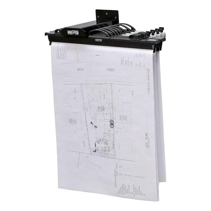 Hang-A-Plan Wall Rack (10 Plan Capacity)