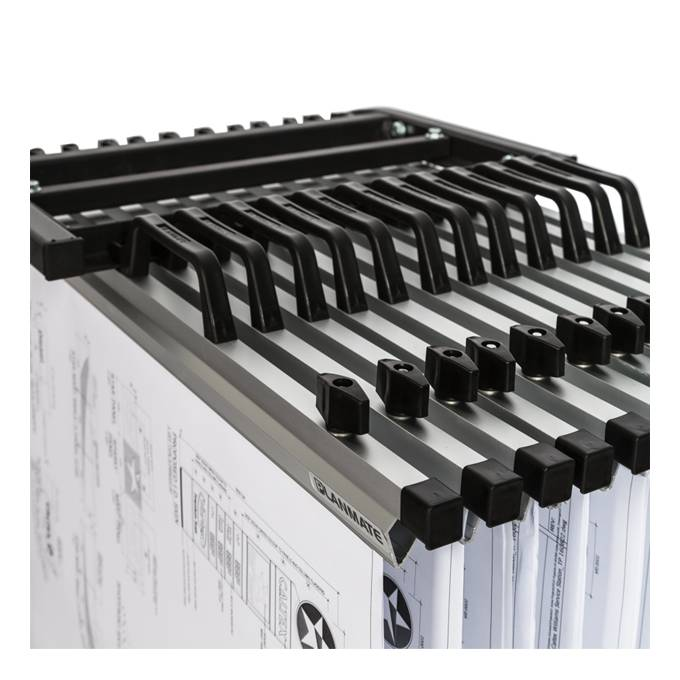 Universal A1 MINI 12 Plan Trolley (12 Clamp Capacity)