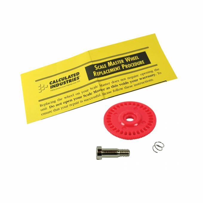 ScaleMaster Plan Wheel replacement wheel KIT